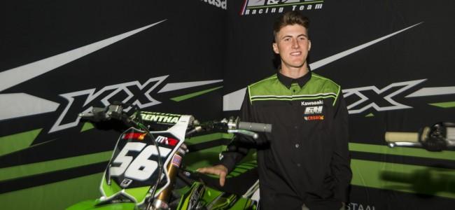 Marshal Weltin blijft bij F&H Racing voor EMX250.