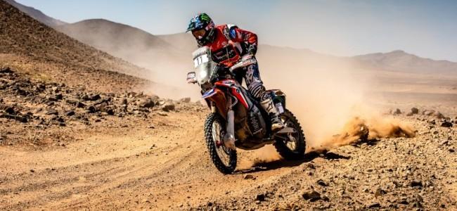 Price slaat hard terug in Rally du Maroc.