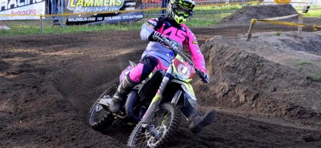 Rowen Driessen pakt MON MX2 jeugd-titel.