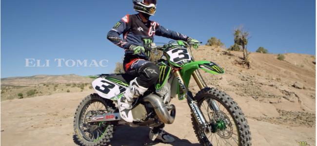 Video: Eli tomac two-stroke action