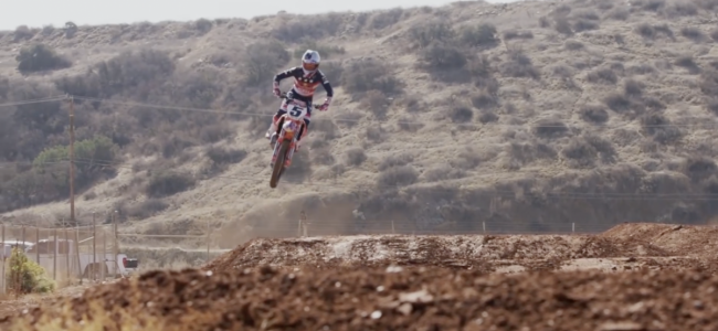 Video: Ryan Dungey's two stroke action