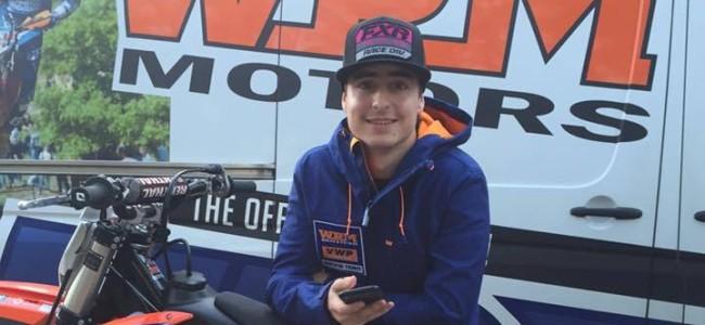 Freek van der Vlist terug op KTM