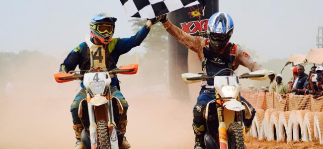 Stefan Everts & Thierry Klutz verzorgen de show in Congo!