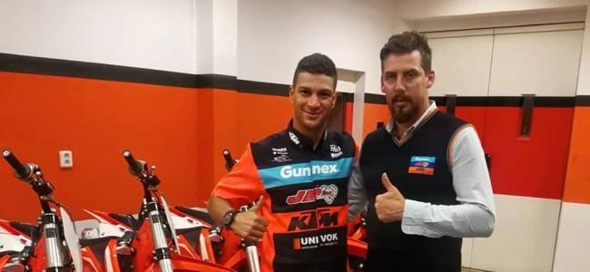 Jose Butron tekent bij JD GUNNEX KTM Racing
