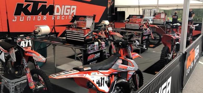 KTM Diga Junior Racing werft aan!