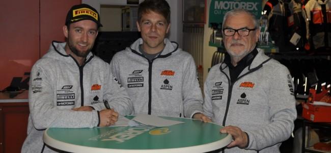 De cirkel is rond: Max Nagl terug bij KTM Sarholz!