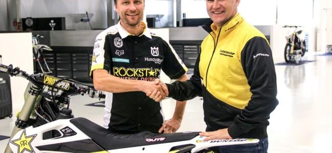 Fabrieks Husqvarna MXGP team kiest voor Dunlop