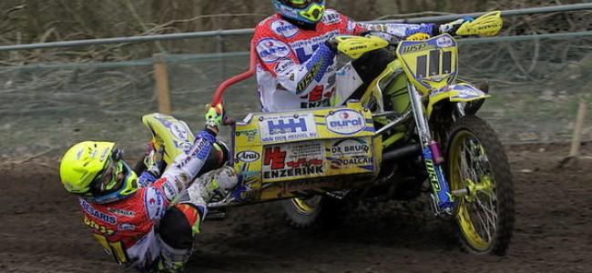 Sidecar-team Willemsen verliest GP overwinning Duitsland door diskwalificatie!