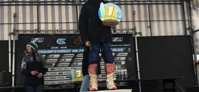 Strandrace Hossegor: Junior Bal blijft winnen!