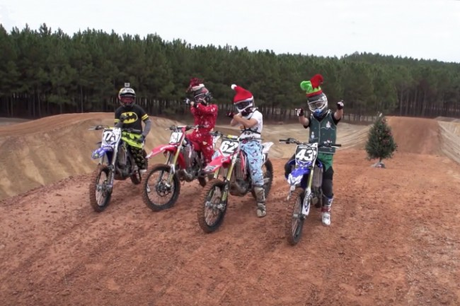 Kerstcross met Cooper Webb, Jimmy Decotis, Jordon Smith & Luke Renzland!