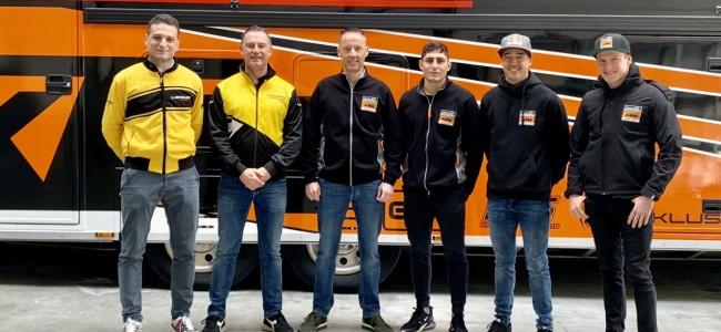 Standing Construct KTM MXGP gaat voor Dunlop