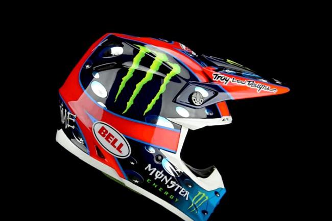Wie heeft het mooiste Monster Energy helmdesign?