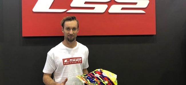 Max Nagl kiest voor LS2 helmets