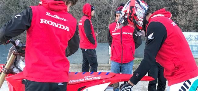 Brent van Doninck begint Assomotor Honda testwerk