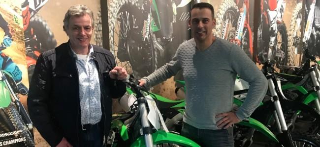 Marc Velkeneers versterkt Gebben-Van Venrooy-Kawasaki