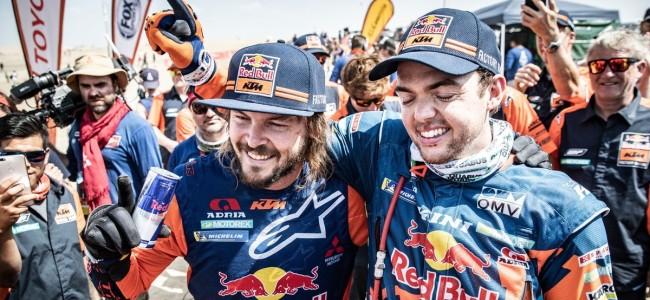 Toby Price wint zijn tweede Dakar Rally
