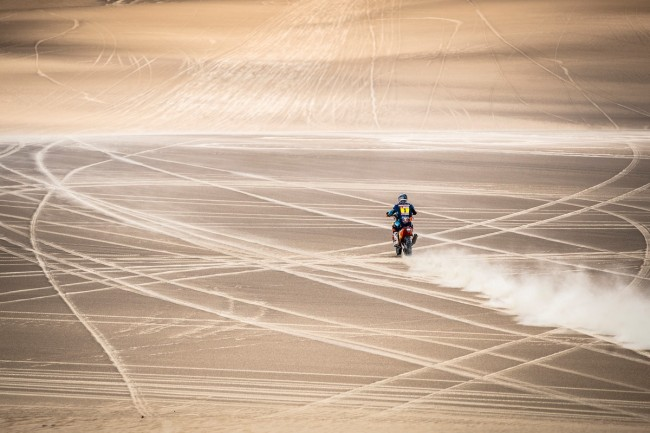 Matthias Walkner wint en stijgt met stip in Dakar Rally