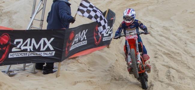 Strandrace Gurp TT: Junior Bal 2de bij Beloften