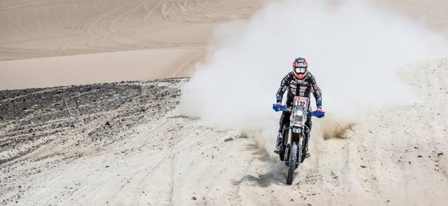 Wesley Pittens uit de Dakar Rally na flinke klapper