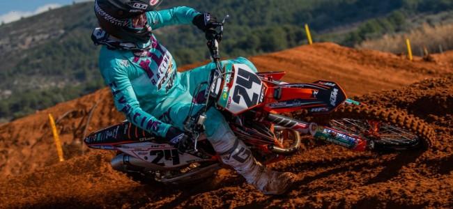 Topcombinatie Shaun Simpson – KTM herenigd