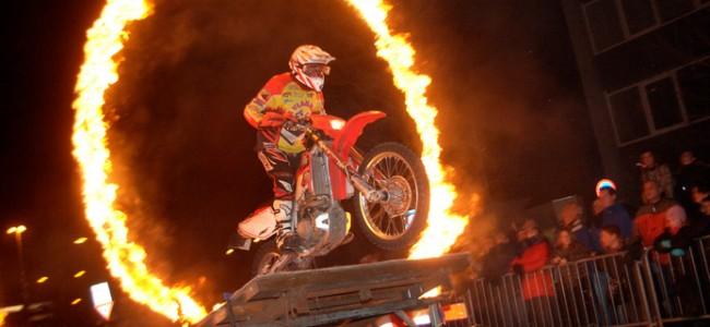 De Boekelse Vlammers vlammen in nieuwjaarsnacht