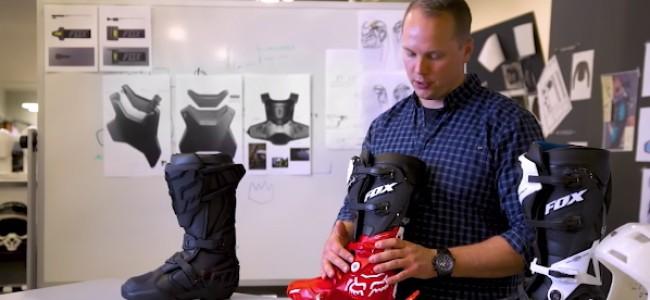 SX voor dummies: Hoe worden laarzen ontworpen?