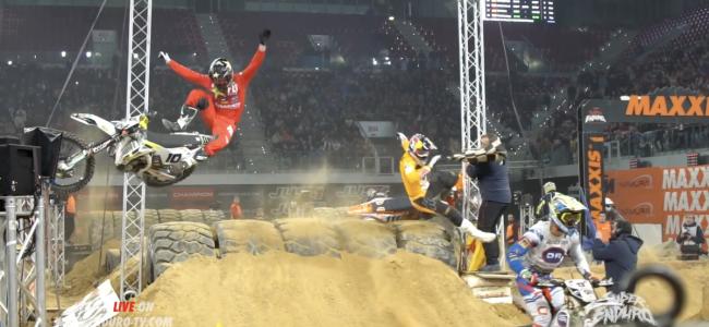 Video: Crash Colton Haaker en Taddy Blazusiak