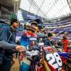 Minneapolis Supercross: Inside the pits