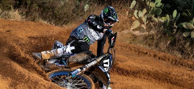 Fotoshoot: Rick Elzinga & SDM Corse Yamaha EMX250