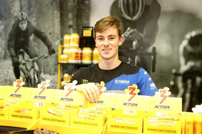 Jago Geerts kiest voor 3Action Sports Nutrition