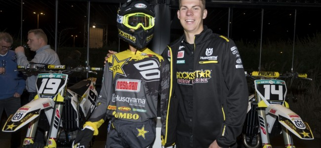 Rockstar Energy Husqvarna Factory Racing MX2 team voorgesteld