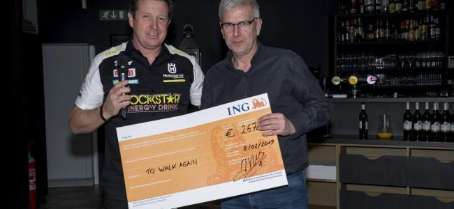 Jacky Martens & friends steunen 'To walk again'