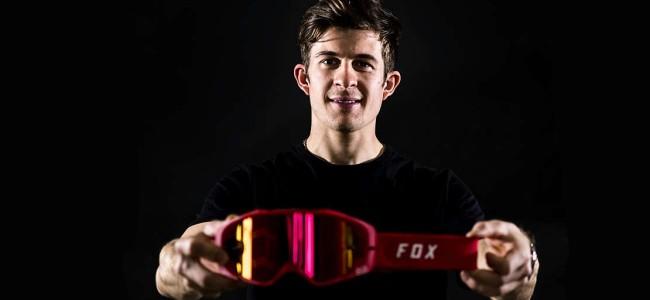 Jeremy Seewer gaat voor Fox brillen