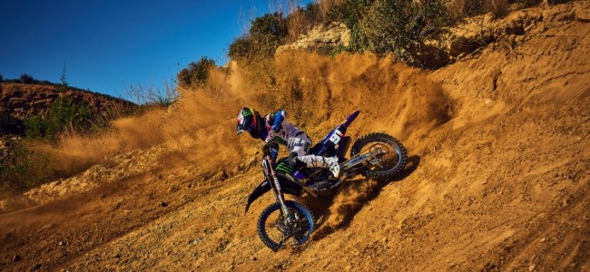 VIDEO: Jeremy Seewer speelt met een Yamaha YZ125