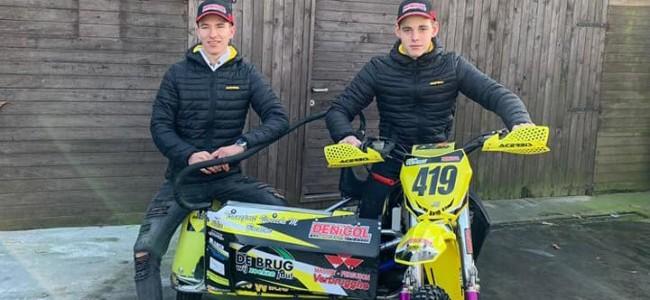 Nieuw GP-zijspancrossteam Junior Verhelst/Niklas Willemsen aan het woord!