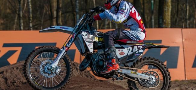 Italiaan wint eerste manche EMX125 in V'waard!