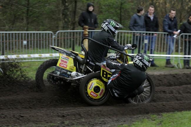 Spannende ONK Sidecar Masters Lochem prooi voor Bax/Stupelis!