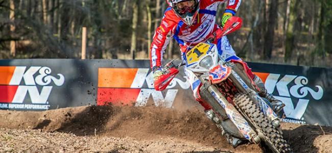 EnduroGP: Steve Holcombe onklopbaar in Dahlen!