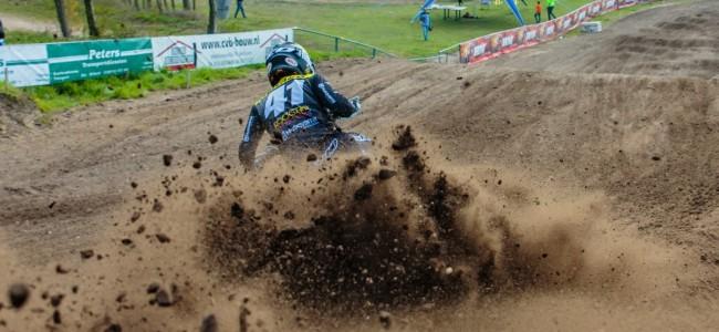 Actie in Axel tijdens Dutch Masters of Motocross