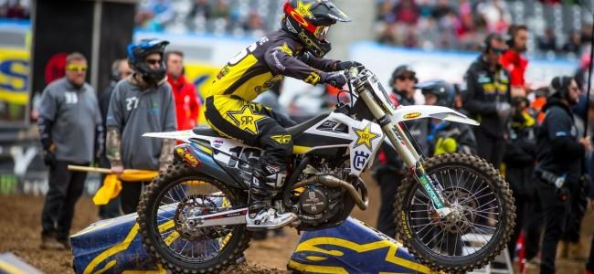 Zach Osborne zet punt achter supercross seizoen