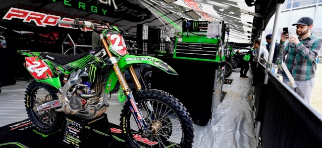 Austin Forkner is erbij in East-Rutherford