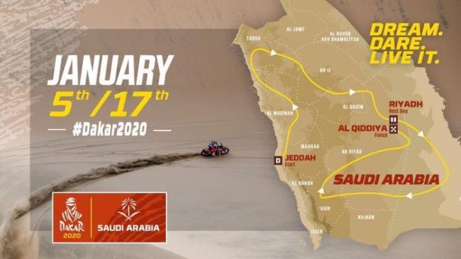 De Dakar Rally gaat naar Saoedi-Arabie