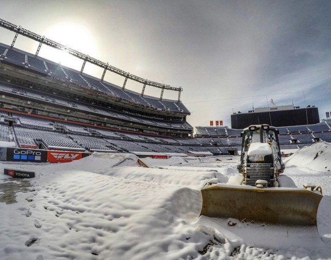Sneeuwcross in Denver?