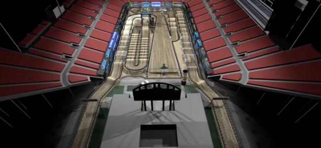 Las Vegas track map