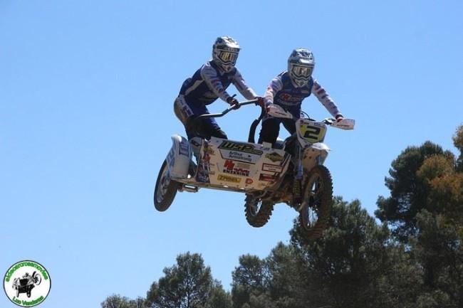 Koen Hermans/Nicolas Musset winnen de spannende GP Zijspancross van Spanje!