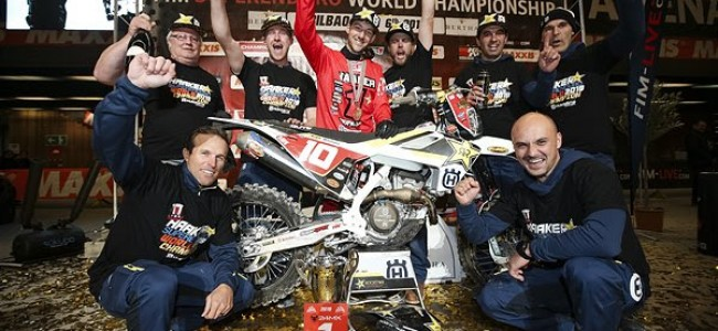 Colton Haaker wint zijn derde SuperEnduro-titel