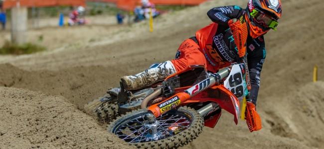 Max Anstie zal niet deelnemen aan de races vandaag in Imola!