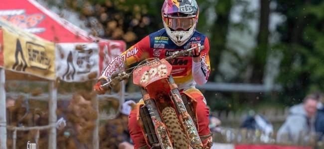 Conrad Mewse mist de GP in Mantova!