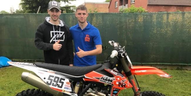 Cedric Grobben in de MXGP bij Team NR83