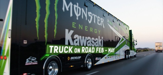 Video: Dit is de nieuwe Kawasaki race truck
